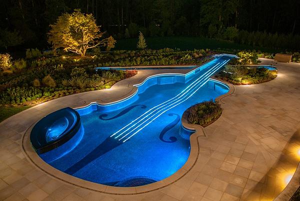 国外创意庭院-泳池的魅力